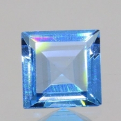 ok. 1,145ct/szt. -IDEALNY  TOPAZ NAT.- 6,04x6,09/3,14mm kwadrat