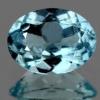 ok. 0,6ct /1szt (masa uśredniona). - PIĘKNY CZYSTY AKWAMARYN NAT.- doskonały szlif 7,0x5,0mm owal