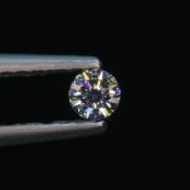 0,05 ct ~ d2,2mm ~ diament biały, szlif okrągły brylantowy ~ barwa GH ~ czystość SI