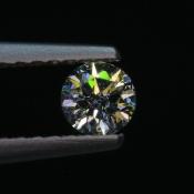 0,2 ct ~ d3,7mm ~ diament biały, szlif okrągły brylantowy ~ barwa GH ~ czystość SI